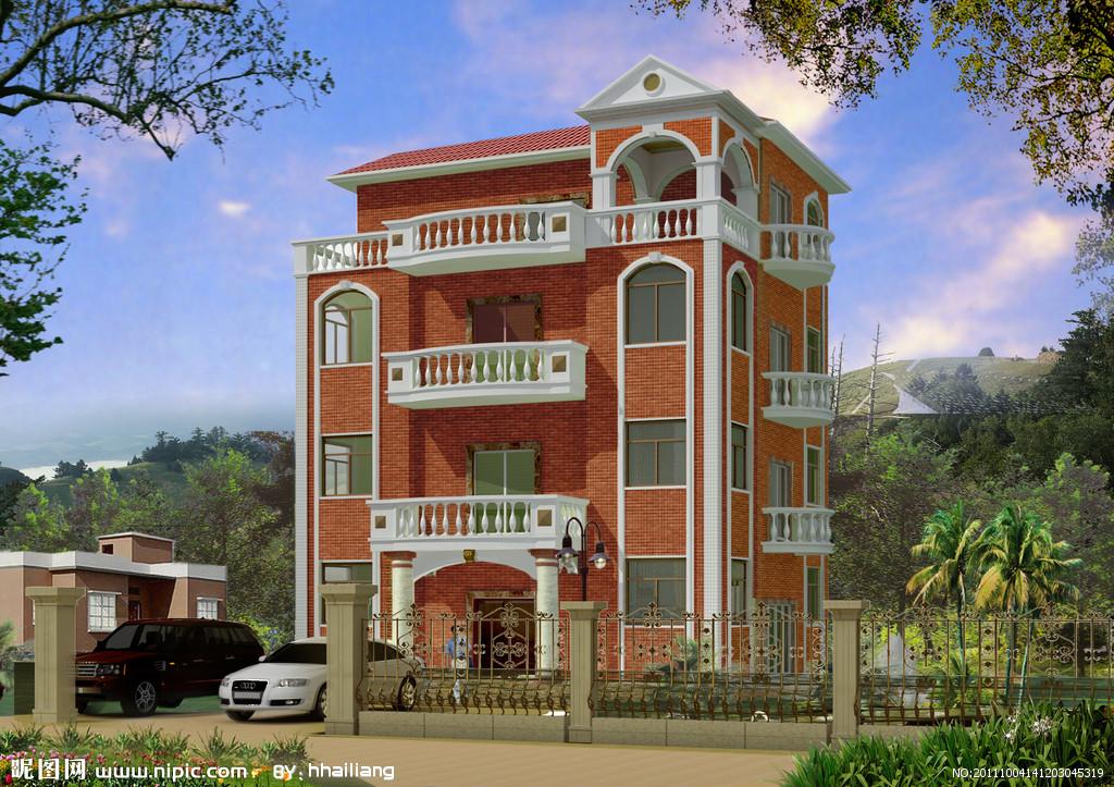 四層別墅 - 桂林藍圖建筑設計有限公司